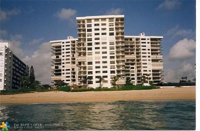 Lauderdale By The Sea Condo/Townhouse For Sale: 1800 S Ocean Blvd #602