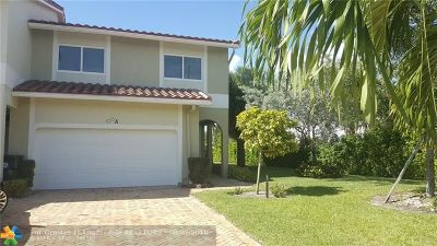 Boca Raton Rental For Rent: 630 Enfield St #A