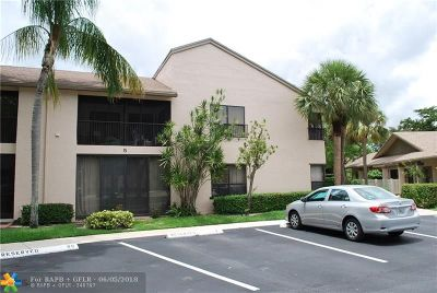 Coconut Creek Condo/Townhouse For Sale: 3291 NW 47th Ave #3222