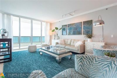 Fort Lauderdale Condo/Townhouse For Sale: 101 S Ft. Lauderdale Beach Blvd. #1105