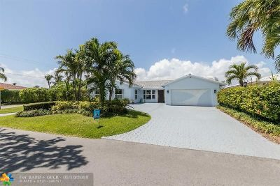 Fort Lauderdale Single Family Home For Sale: 4101 NE 34th Ave