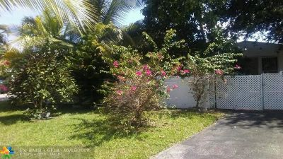 North Miami Beach Single Family Home For Sale: 1332 NE 177th St