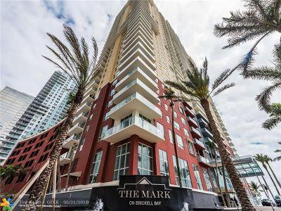 Miami Condo/Townhouse For Sale: 1155 Brickell Bay Dr #706