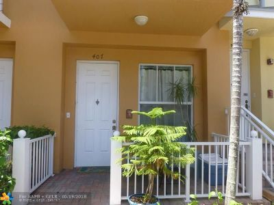Fort Lauderdale Rental For Rent: 407 SW 13th Ter #407