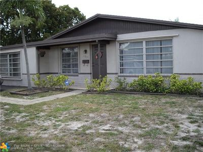 Fort Lauderdale Single Family Home For Sale: 1031 NW 48th St