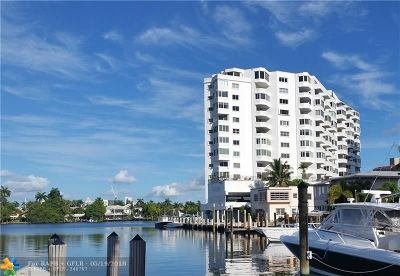 Fort Lauderdale Condo/Townhouse For Sale: 333 Sunset Dr #406