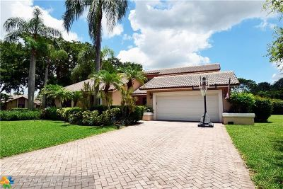 Coral Springs Single Family Home For Sale: 5099 NW 90th Ter