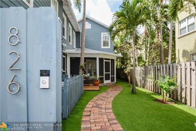 Fort Lauderdale Single Family Home For Sale: 826 SW 2 Ct