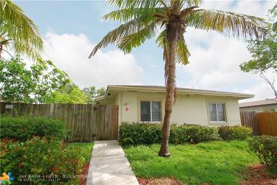 Fort Lauderdale Multi Family Home For Sale: 301 SW 16 St