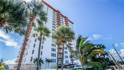 Fort Lauderdale Condo/Townhouse For Sale: 3000 E Sunrise Blvd #PH-E