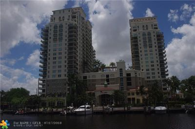 Fort Lauderdale Condo/Townhouse For Sale: 610 W Las Olas Blvd #1820N