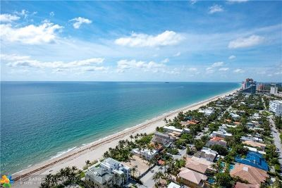 Fort Lauderdale Condo/Townhouse For Sale: 3100 N Ocean Blvd #2810-PH