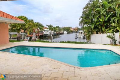 Fort Lauderdale Single Family Home For Sale: 5710 Bayview Dr