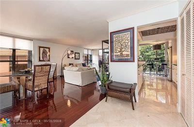 Fort Lauderdale Condo/Townhouse For Sale: 1101 River Reach Dr #517