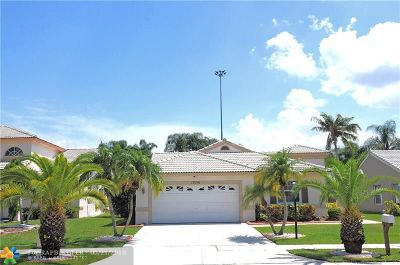 Pembroke Pines Single Family Home For Sale: 18716 NW 1st St