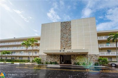 Dania Beach Condo/Townhouse Backup Contract-Call LA: 414 SE 10th St #107