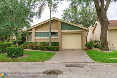 Coconut Creek Single Family Home For Sale: 4437 Cordia Cir