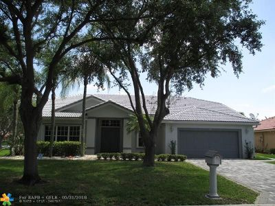 Coral Springs Single Family Home For Sale: 1577 NW 103rd Ter