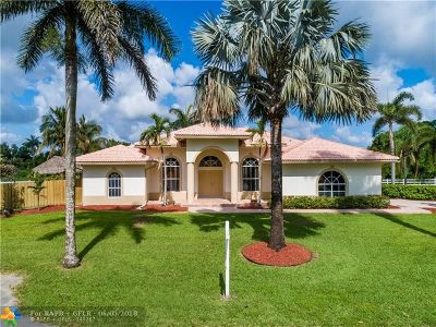 Cooper City Single Family Home Backup Contract-Call LA: 10970 SW 48th St