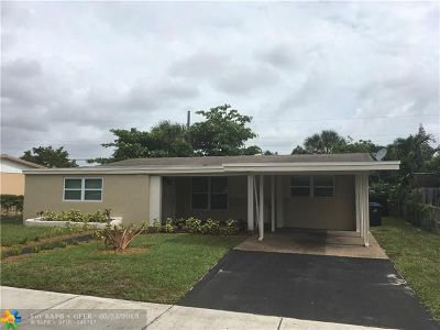 Fort Lauderdale Single Family Home For Sale: 2951 NW 21st St