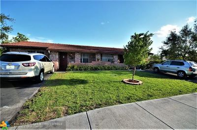 Coral Springs Multi Family Home For Sale: 7516 NW 44th Ct