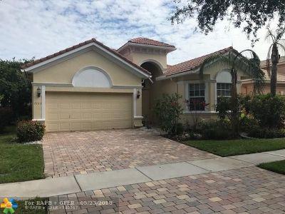 Boynton Beach Single Family Home For Sale: 7233 Vesuvio Pl
