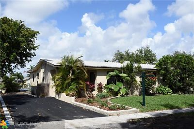 Dania Beach Single Family Home For Sale: 805 NW 13th Ave