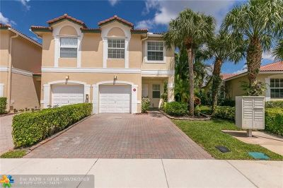Coral Springs Condo/Townhouse For Sale: 11717 NW 47 Dr #11717