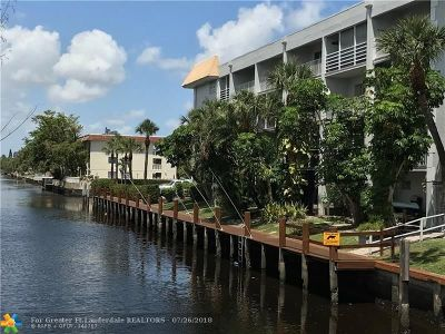 Fort Lauderdale Condo/Townhouse For Sale: 1407 NE 56th St #106