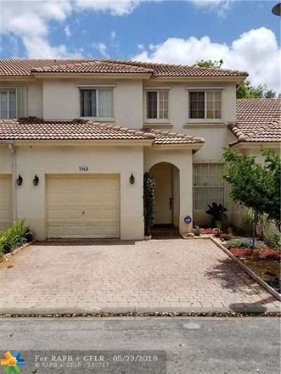 Pembroke Pines Single Family Home For Sale: 7968 NW 18th Ct