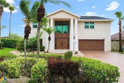 Plantation Single Family Home For Sale: 9800 SW 4th St