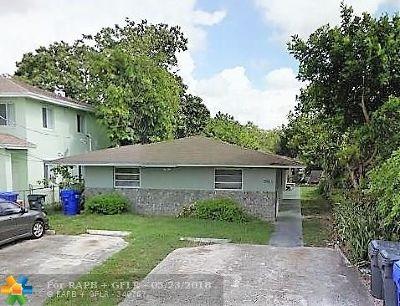 Broward County Multi Family Home For Sale: 5911 Fillmore St
