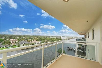 Hillsboro Beach Condo/Townhouse For Sale: 1160 Hillsboro Mile #904