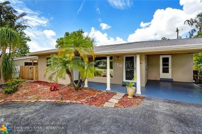 Oakland Park Single Family Home For Sale: 150 NW 35th St