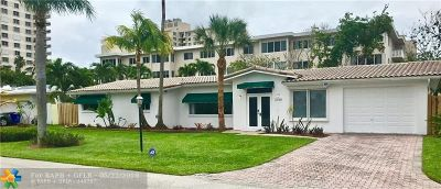 Pompano Beach Rental For Rent: 2160 Coral Reef Dr
