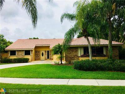 Davie Single Family Home Backup Contract-Call LA: 6410 W Falcons Lea Dr