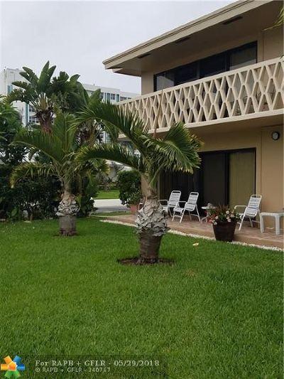 Pompano Beach Condo/Townhouse For Sale: 3208 SE 11th St #101