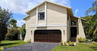 Coral Springs Single Family Home For Sale: 3536 NW 73rd Way