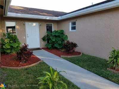 Plantation Single Family Home For Sale: 1320 NW 76th Ave
