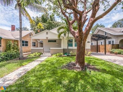 Fort Lauderdale Single Family Home For Sale: 704 SE 7th St