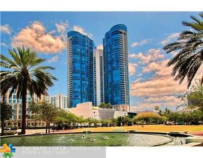 Fort Lauderdale Condo/Townhouse For Sale: 333 Las Olas Way #CU 5 and