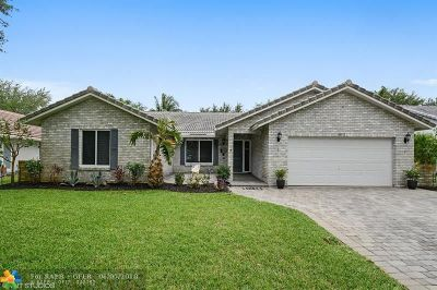 Coral Springs Single Family Home For Sale: 8852 NW 56th St
