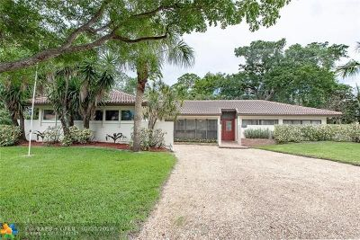 Coral Springs Single Family Home For Sale: 1437 NW 81st Ave