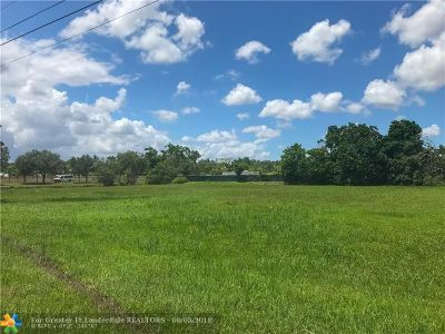 Southwest Ranches Residential Lots & Land For Sale: 14751 Luray Rd