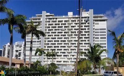 Fort Lauderdale Condo/Townhouse For Sale: 2800 E Sunrise Blvd #15F