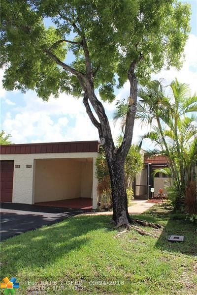 Tamarac Condo/Townhouse For Sale: 6536 NW 98th Ter #D24
