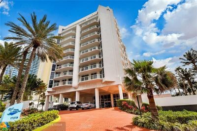 Sunny Isles Beach Condo/Townhouse For Sale: 17275 Collins Ave #605