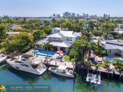Fort Lauderdale Single Family Home For Sale: 92 Fiesta Way