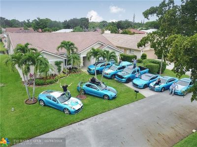 Coral Springs Single Family Home For Sale: 4057 NW 73rd Way