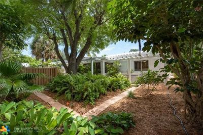 Fort Lauderdale Single Family Home For Sale: 1720 NE 16th Ave